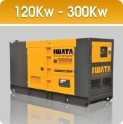 Jual Genset Iwata 120 - 300Kw