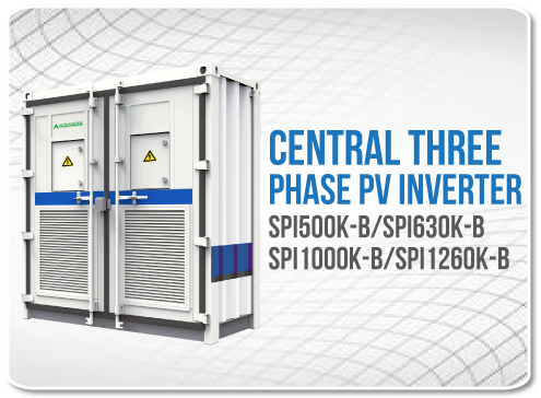 Central Three phase PV Inverter
