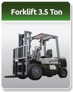 Bomac Forklift Military 3.5 Ton