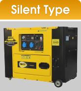 Jual Genset Silent Type