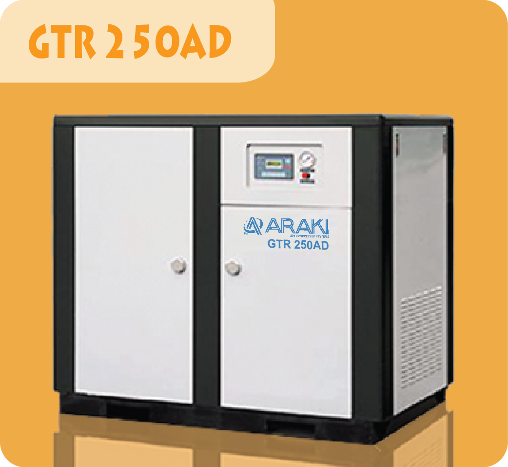 Araki Screw Compressor GTR-250AD