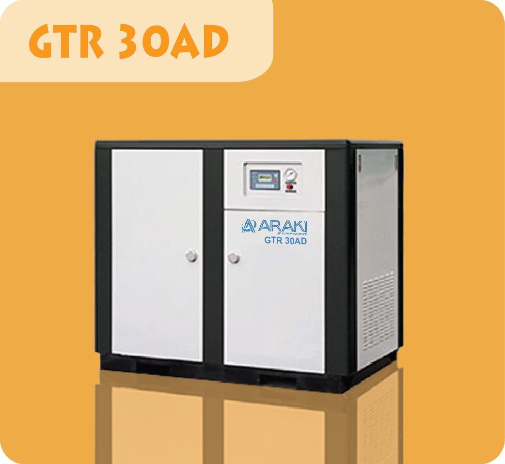 Araki Screw Compressor GTR-30AD