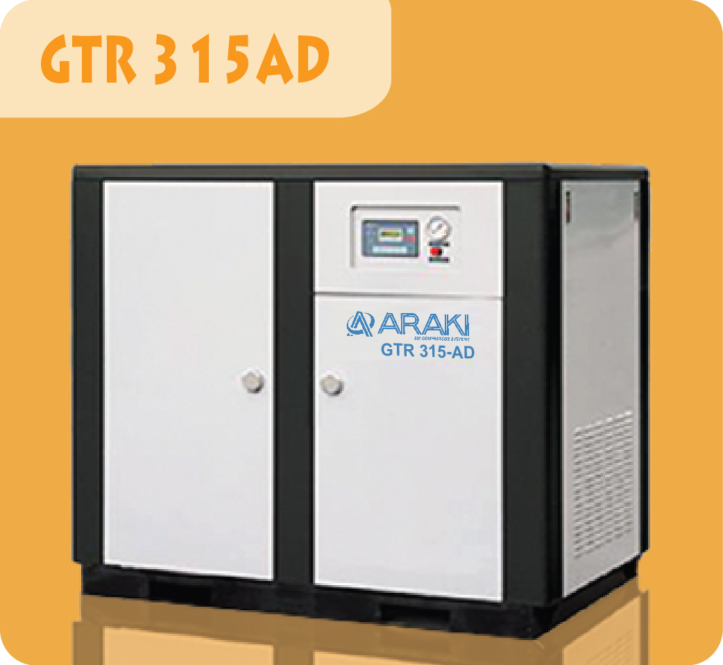 Araki Screw Compressor GTR-315AD