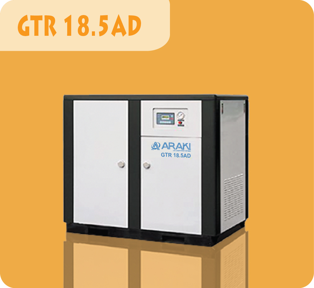 Araki Screw Compressor GTR-18.5AD