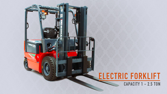 Bomac Forklift Electric