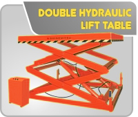 Double Hydraulic Lift Table