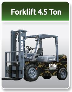 Bomac Forklift Military 4.5 Ton