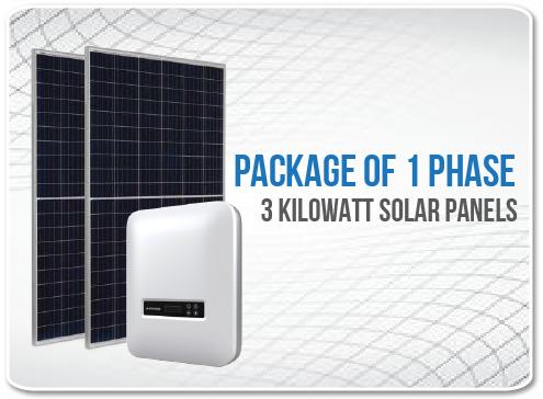 Solar Panel Package 1 Phase 3 Kilowatt