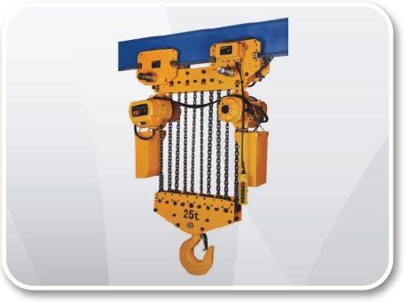 Electric Chain Hoist 15 - 25 Ton