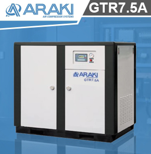 Araki Screw Compressor GTR7.5A