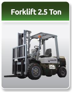 Bomac Forklift Military 2.5 Ton
