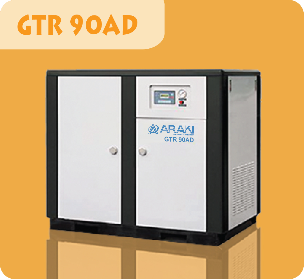 Araki Screw Compressor GTR-90AD