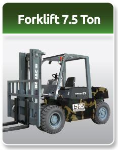 Bomac Forklift Military 7.5 Ton