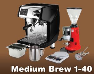 Medium Brew 1-40
