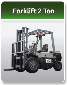 Bomac Forklift Military 2 Ton