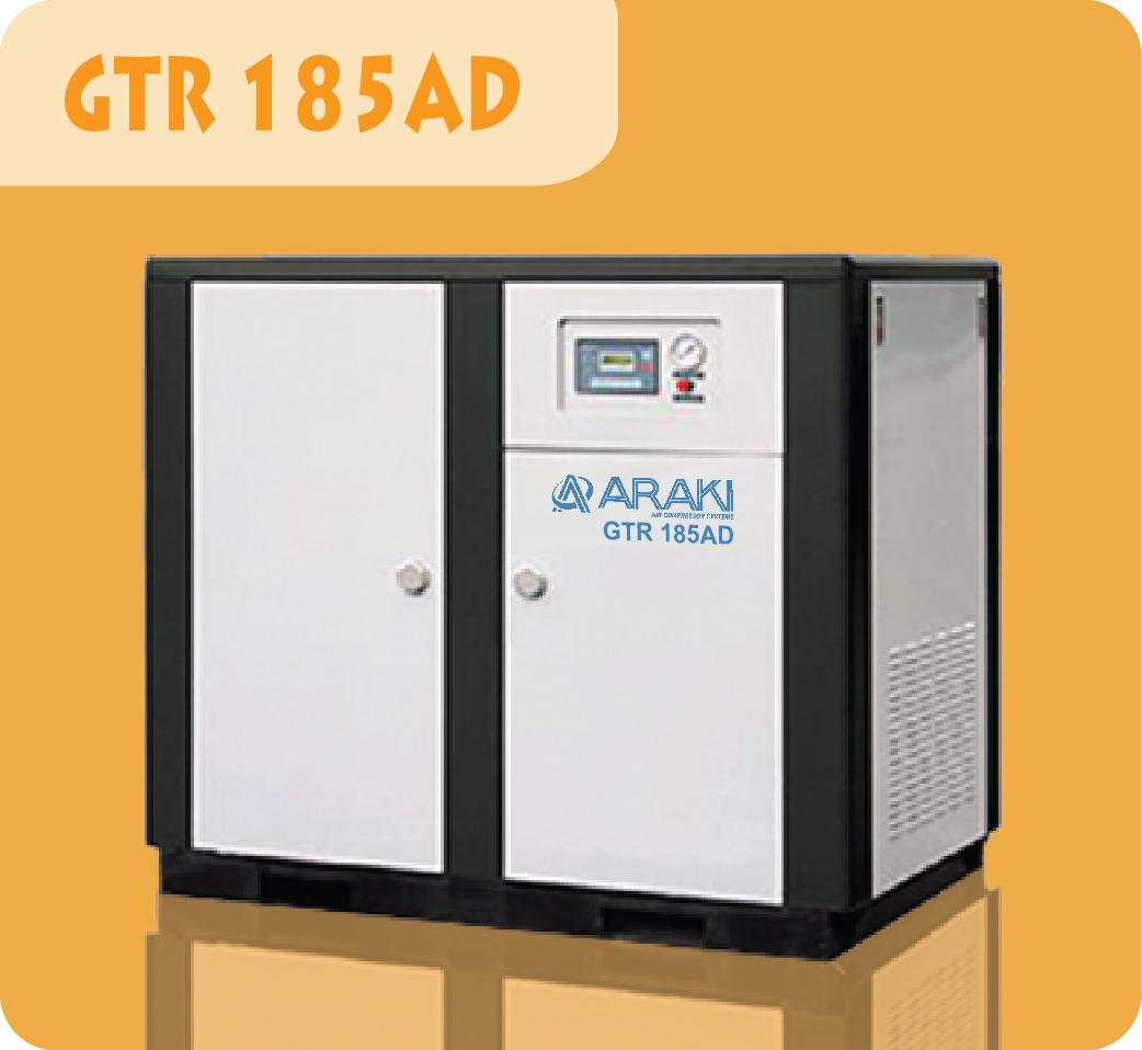 Araki Screw Compressor GTR-185AD