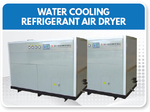 Water Cooling Refrigerant Air Dryer