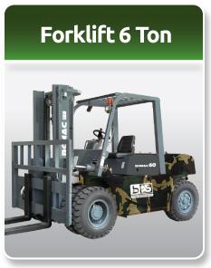 Bomac Forklift Military 6 Ton